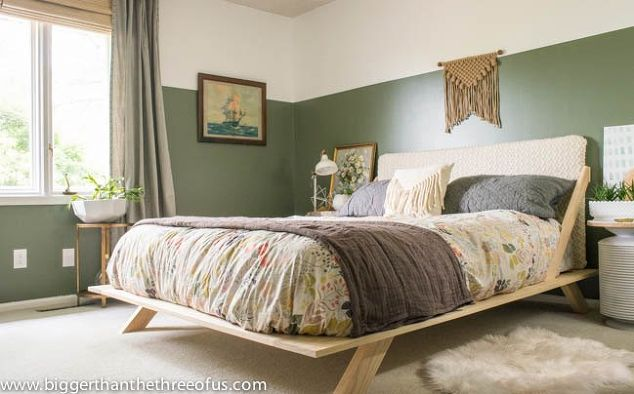 eclectic bedroom. before after modern eclectic bedroom makeover  ideas wall decor woodworking projects Before After Modern Eclectic Bedroom Makeover Hometalk