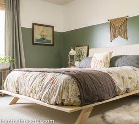 Lovely Before After Modern Eclectic Bedroom Makeover, Bedroom Ideas, Wall Decor,  Woodworking Projects Great Ideas