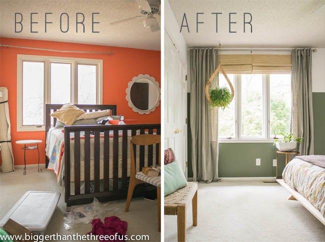 Before/After Modern Eclectic Bedroom Makeover | Hometalk
