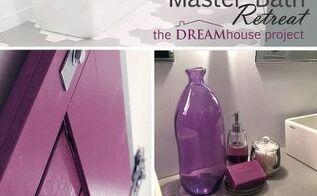 diy reveal bold beautiful master bath retreat, bathroom ideas, doors, home improvement, tiling