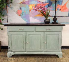 Light Blue Painted Buffet, Chalk Paint, Painted Furniture Ashley Harding