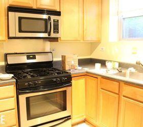 Elegant Small Condo Kitchen Makeover, Kitchen Backsplash, Kitchen Cabinets, Kitchen  Design, Kitchen Before