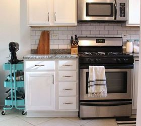 Small Condo Kitchen Makeover, Kitchen Backsplash, Kitchen Cabinets, Kitchen  Design