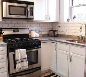 Merveilleux Small Condo Kitchen Makeover, Kitchen Backsplash, Kitchen Cabinets, Kitchen  Design