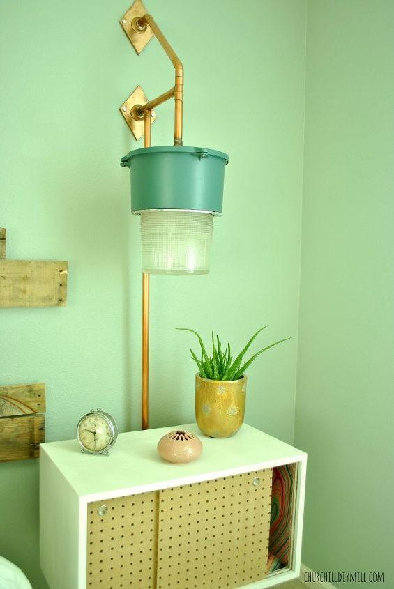 master bedroom facelift, bedroom ideas, lighting, pallet, repurposing upcycling, wall decor