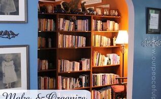 tiny home library nook, home decor, living room ideas, organizing
