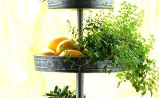 indoor herb garden, flowers, gardening, home decor, repurposing upcycling