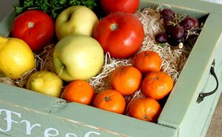 diy rustic fresh produce box, crafts, how to, pallet, repurposing upcycling, woodworking projects