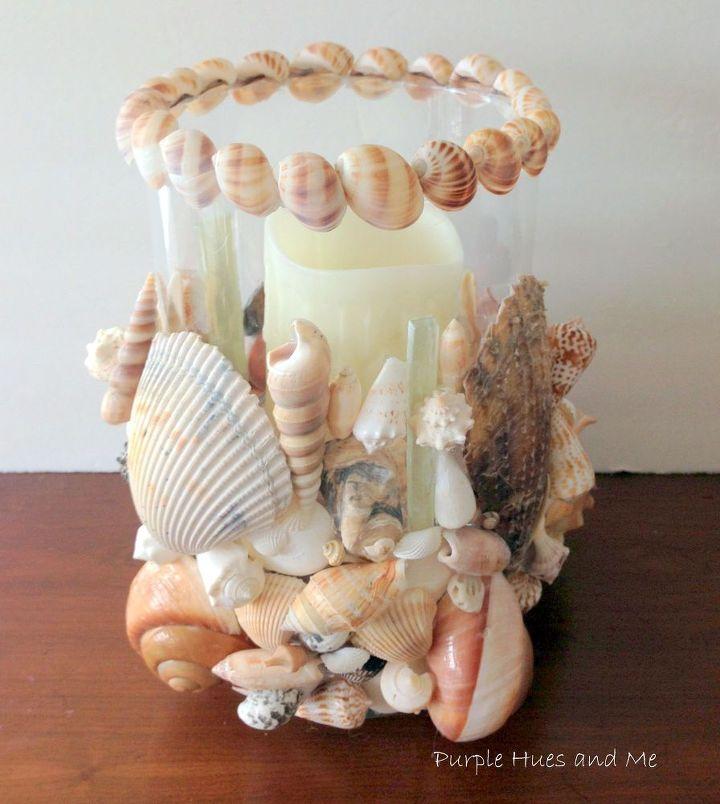 Diy seashells design decoration for Diy shell crafts