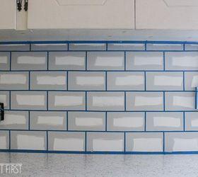 Charmant Diy Cheap Subway Tile Backsplash, Diy, How To, Kitchen Backsplash, Kitchen  Design