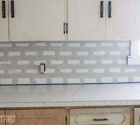 Diy Cheap Subway Tile Backsplash, Diy, How To, Kitchen Backsplash, Kitchen  Design