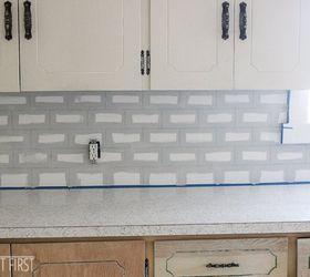 Etonnant Diy Cheap Subway Tile Backsplash, Diy, How To, Kitchen Backsplash, Kitchen  Design