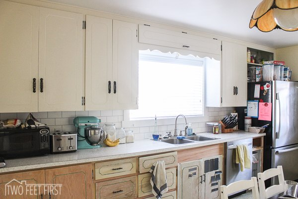 diy cheap subway tile backsplash hometalk