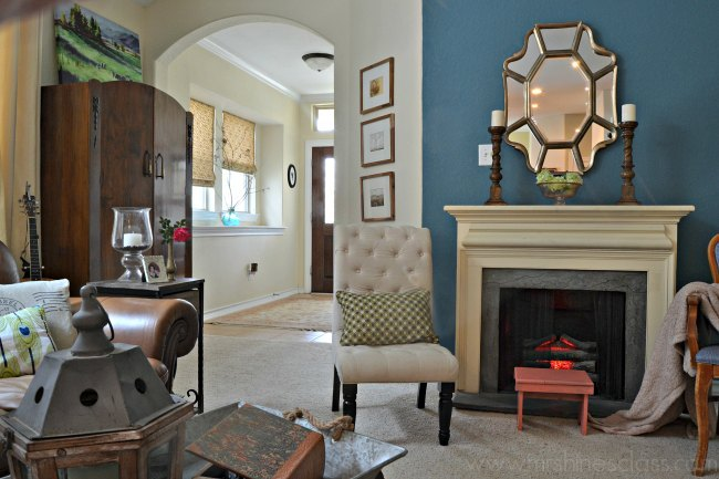 Living Room update-New Wood Floors | Hometalk