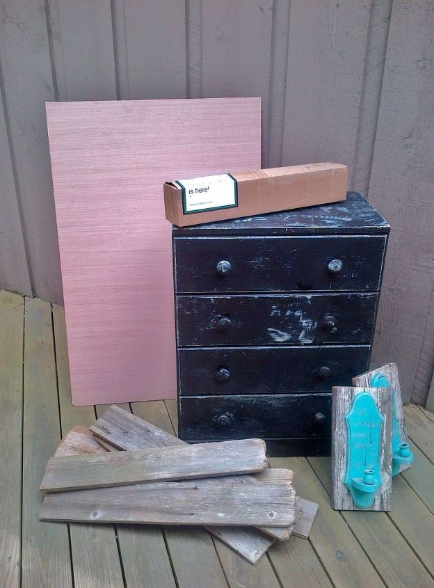 Using Wall Paper For Furniture Makeover Hometalk