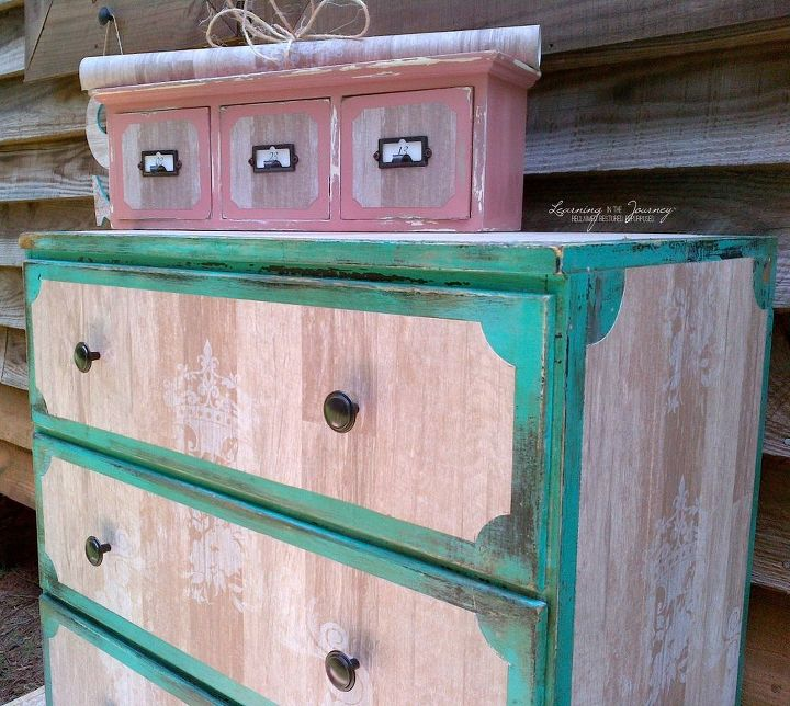 Furniture Makeover and Decor Accents