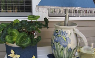 coffee can planter, crafts, gardening, outdoor living, repurposing upcycling