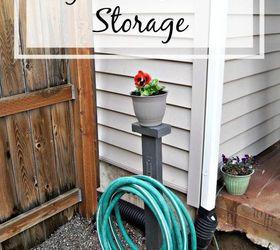 Nice Diy Garden Hose Storage, Gardening, Landscape, Organizing, Outdoor Living,  Storage Ideas