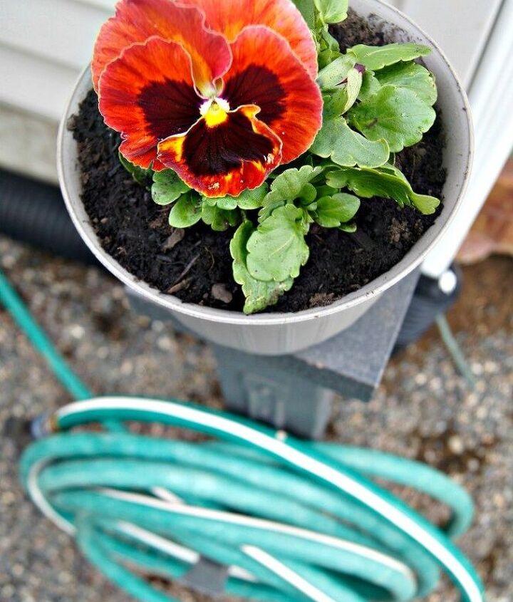 diy garden hose storage, gardening, landscape, organizing, outdoor living, storage ideas