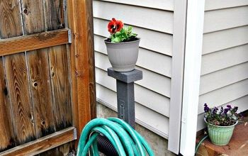 diy garden hose storage, gardening, landscape, organizing, outdoor living, storage ideas