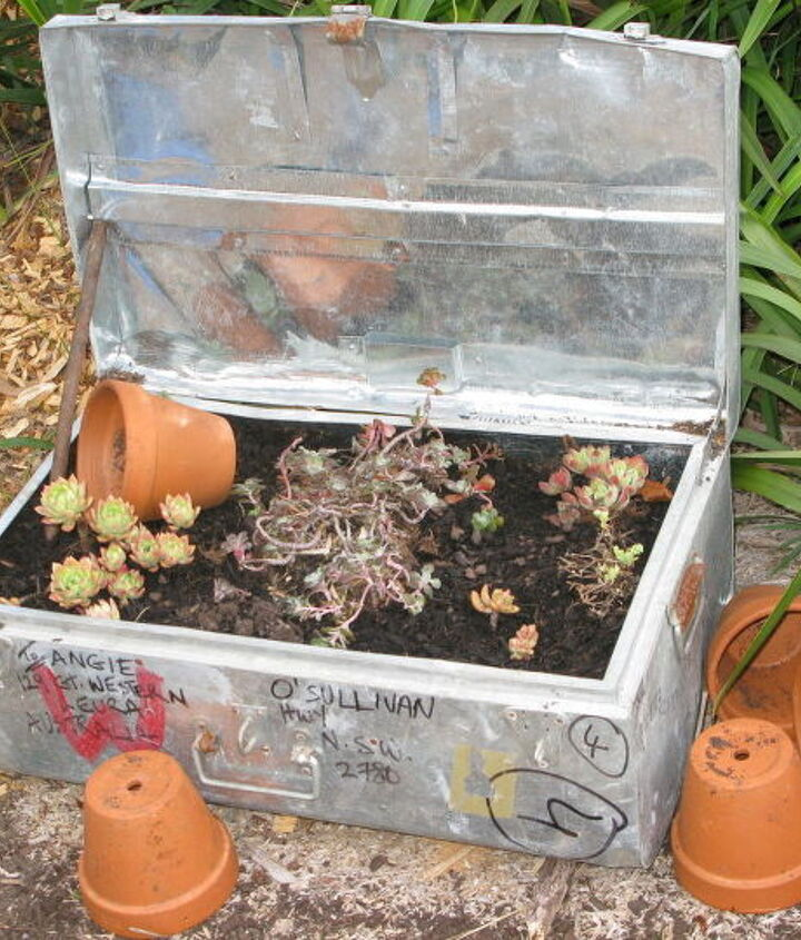creative raised garden bed and containers, container gardening, flowers, gardening, raised garden beds