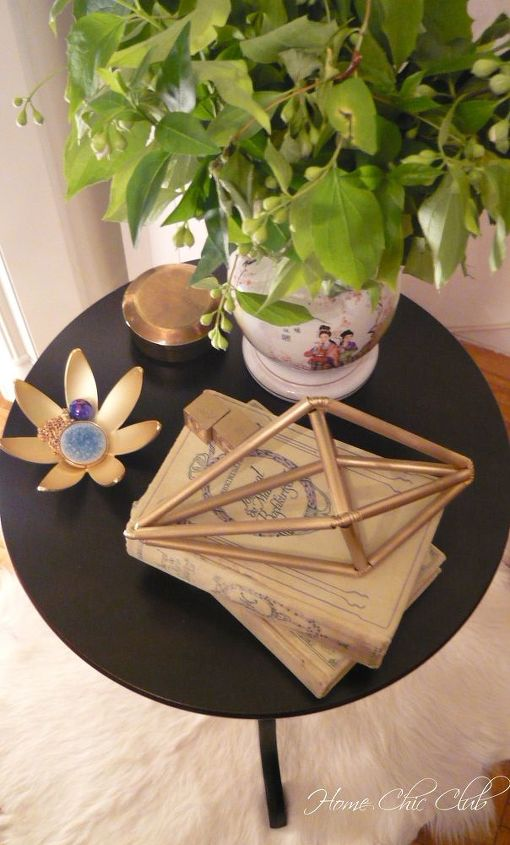 anthropologie inspired home decor using straws, crafts, how to, repurposing upcycling