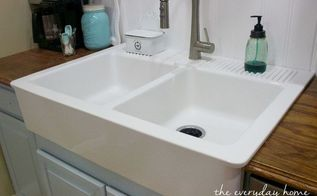 but the kitchen sink diy farmhouse kitchen makeover for 5000 including 5000