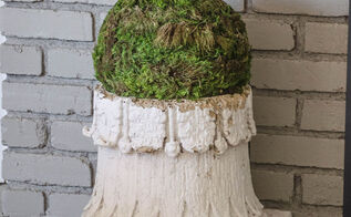 make your own moss balls, crafts, gardening, home decor, how to
