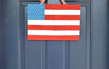 Wood Shim Door Flag