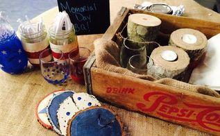 memorial day craft ideas, crafts, patriotic decor ideas, seasonal holiday decor
