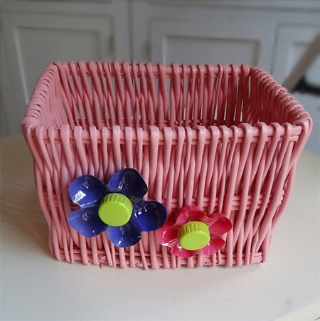 colourful storage containers, crafts, storage ideas