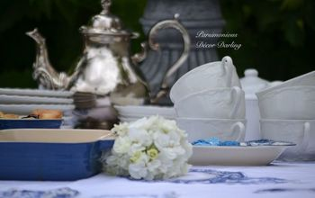 Sweet Garden Tea and Bunch for Mother's Day 2015