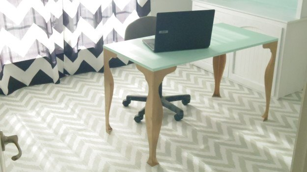 cutting edge stencils for the floor, flooring, how to, painting