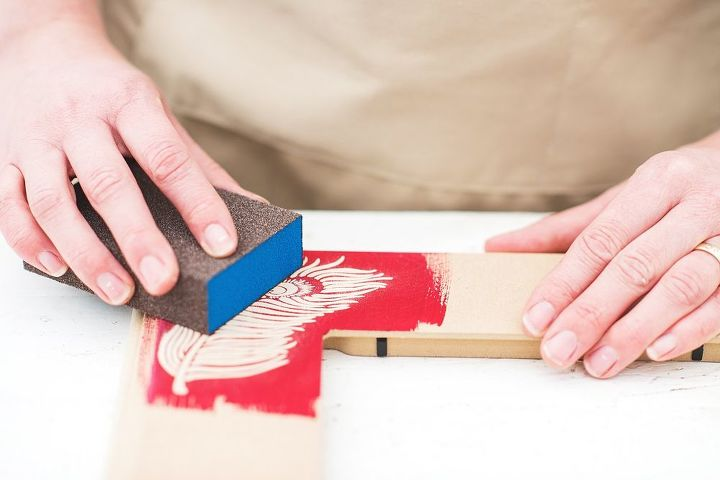 how to create raised stencil effects with embossing plaster tutorial, how to, painted furniture
