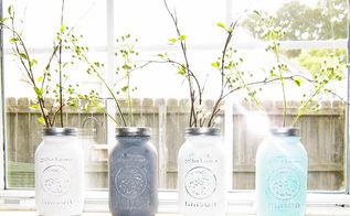 spring mason jars, crafts, how to, mason jars, repurposing upcycling