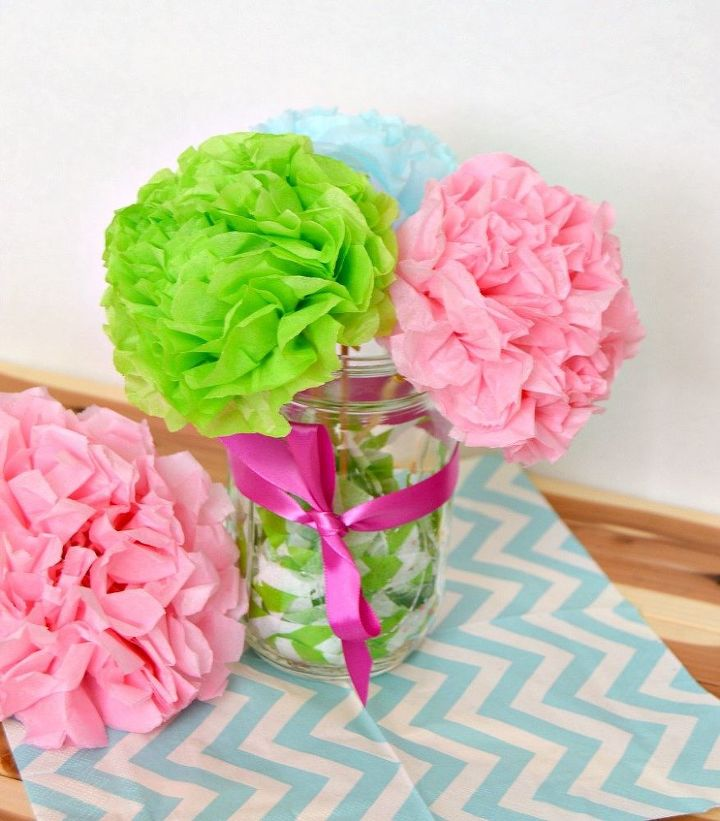 Easy tissue paper flowers hometalk easy tissue paper flowers crafts how to mightylinksfo