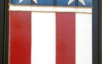U.S. Flag Door Hanging