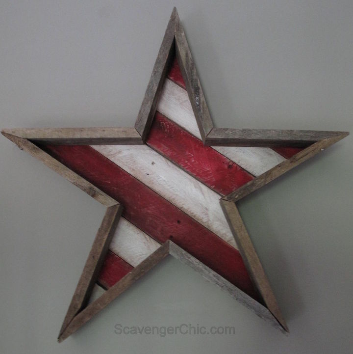 pallet stars and stripes diy, pallet, patriotic decor ideas, repurposing upcycling, seasonal holiday decor, wall decor