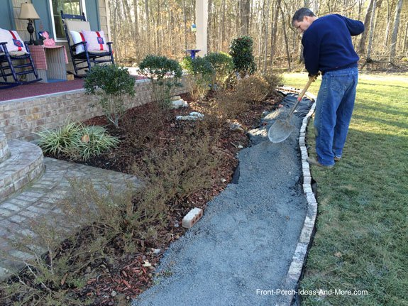 diy gravel walkway tutorial, gardening, how to, landscape
