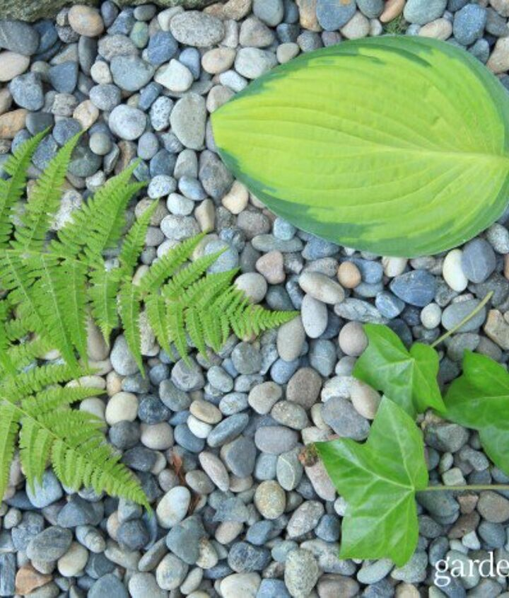 leaf print concrete stepping stones, concrete masonry, gardening, how to