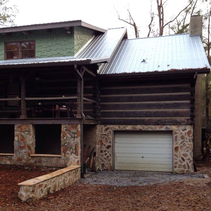 An Update On My Log Cabin Renovation: Get Inspiration To Completely Transform The Outside Of