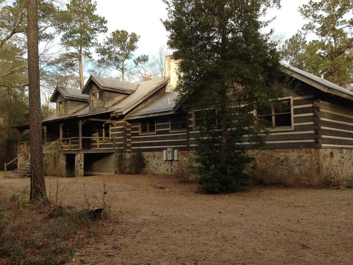 Our Log Home Exterior Renovations Hometalk