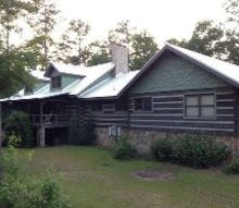 our log home exterior renovations, curb appeal, home decor, home improvement
