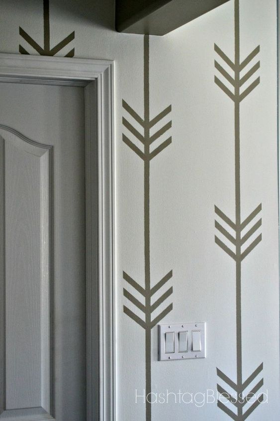 a wallpaper less patterned wall, how to, painting, wall decor