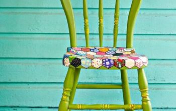Decoupaged Chair Quilt Pattern