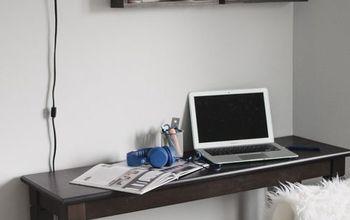 Desk Organizer With IKEA Spice Racks