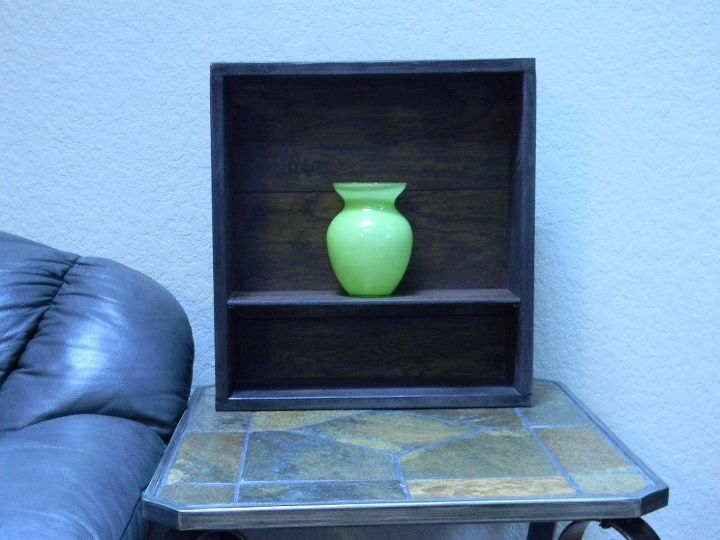 cabinet made from leftover laminate or wood click lock flooring, repurposing upcycling, woodworking projects