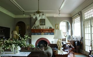 choosing gray as living room wall color, living room ideas, paint colors, painting