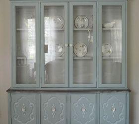Vintage Bassett China Cabinet Gets a New LIfe | Hometalk