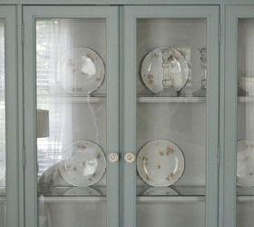 Vintage Bassett China Cabinet Gets a New LIfe   Hometalk